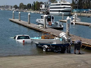 bad boat launch